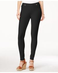 Michael Kors | Black Michael Leggings | Lyst
