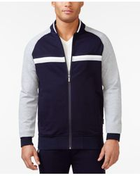 Sean John | Blue Men's Taped Track Jacket, Only At Macy's for Men | Lyst
