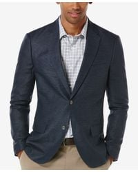 Perry Ellis - Blue Men's Slim-fit Hopsack Sport Coat for Men - Lyst