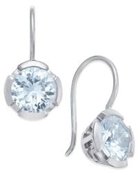 Thomas Sabo | Metallic Blue Crystal Drop Earrings In Sterling Silver | Lyst