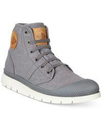 Palladium - Gray Men's Pallabrique Boots for Men - Lyst