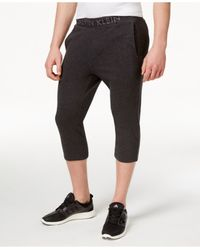 Calvin Klein - Orange Performance Men's Cropped Pants for Men - Lyst
