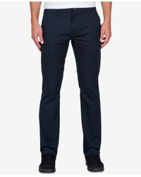 Volcom | Blue Men's Frickin Modern Stretch Pants for Men | Lyst