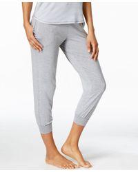 DKNY | Gray Jogger Pajama Pants | Lyst