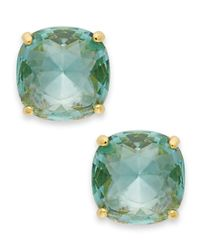 kate spade new york | Blue Square Stud Earrings | Lyst