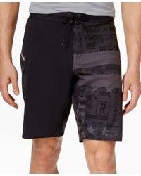 Reebok - Black Men's Crossfit Speedwick Board Shorts for Men - Lyst