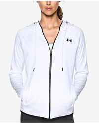 Under Armour | White Storm Armour Full Zip Fleece Hoodie | Lyst