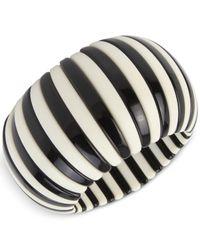 INC International Concepts - Multicolor Striped Acrylic Stretch Bracelet - Lyst