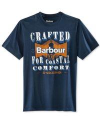 Barbour - Blue Men's Craft Tower T-shirt for Men - Lyst