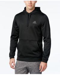 Adidas Originals   Black Men's Team Issue Pullover Hoodie for Men   Lyst