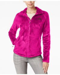 The North Face - Pink Osito 2 Fleece Jacket - Lyst