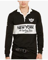 Polo Ralph Lauren | Black Men's Graphic Pullover for Men | Lyst