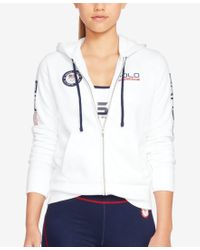 Polo Ralph Lauren - Multicolor Team Usa Full-zip Hoodie - Lyst