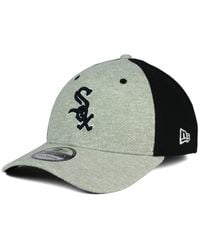 best website 5b1d7 9c7ca Men s Black Chicago White Sox Team Color Tech Fuse 39thirty Cap