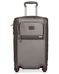 """Tumi   Gray Alpha 2 22"""" Expandable International Carry-on Spinner Suitcase for Men   Lyst"""