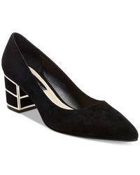 Steven by Steve Madden | Black Buena Pointed-toe Pumps | Lyst