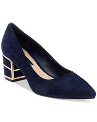 Steven by Steve Madden | Blue Buena Pointed-toe Pumps | Lyst