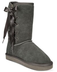Style & Co. | Gray Aliciah Cold-weather Boots, Only At Macy's | Lyst