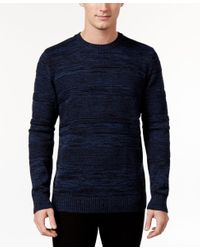 American Rag | Blue Men's Mix-stitch Sweater, Only At Macy's for Men | Lyst