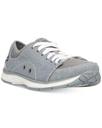 Dr. Scholls | Gray Anna Sneakers | Lyst