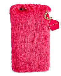 Betsey Johnson | Pink Xox Trolls Faux-fur Iphone 6/6s Case, Only At Macy's | Lyst