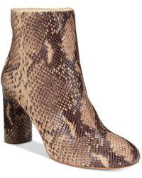 INC International Concepts - Brown Women's Taytee Block-heel Booties, Only At Macy's - Lyst