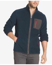 G.H. Bass & Co. | Blue Men's Full-zip Fleece for Men | Lyst