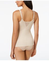 Miraclesuit | Natural Extra Firm Control Sheer Molded Cup Camisole 2774 | Lyst
