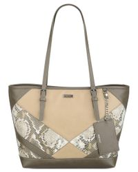Nine West | Natural Ava Tote | Lyst