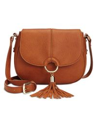 INC International Concepts | Multicolor Emerson Saddle Bag, Only At Macy's | Lyst