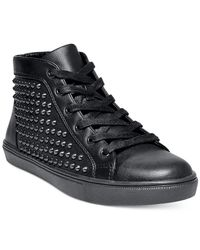 Steve Madden | Multicolor Women's Levels Studded High-top Sneakers | Lyst