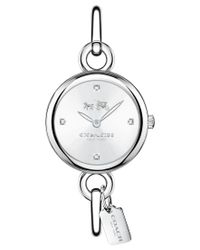 COACH - Metallic Women's Delancey Stainless Steel Bracelet Watch 28mm 14502477 - Lyst