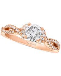 Le Vian - Pink Bridal Diamond Engagement Ring (1-1/6 Ct. T.w.) In 14k Rose Gold - Lyst