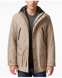 London Fog | Blue Big & Tall 3-in-1 Hooded Coat for Men | Lyst
