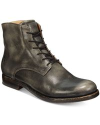 Patricia Nash | Black Serano Lace-up Booties for Men | Lyst