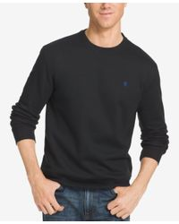Izod - Black Men's Advantage Performance Fleece Sweatshirt for Men - Lyst