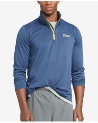 Polo Ralph Lauren - Blue Men's Stretch-jersey Pullover for Men - Lyst