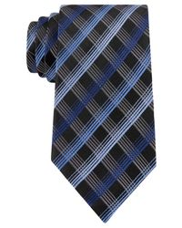 Geoffrey Beene | Blue Men's Office Chic Plaid Tie for Men | Lyst