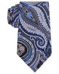 Geoffrey Beene | Black Men's Paisley Charming Tie for Men | Lyst