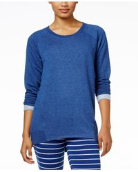 Alfani | Blue High-low Pajama Tunic | Lyst