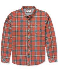 Billabong | Red Men's Long-sleeve Vantage Plaid Shirt for Men | Lyst