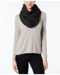 Calvin Klein | Black Oversized Infinity Scarf | Lyst