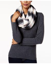 Calvin Klein | Black Ombre Textured Infinity Scarf | Lyst
