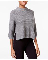 RACHEL Rachel Roy   Gray High-low Sweater   Lyst