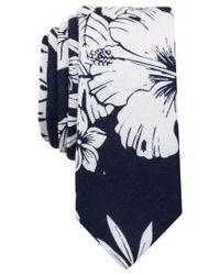 Original Penguin - Blue Original Men's Oceanside Floral Tie for Men - Lyst