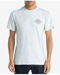 Quiksilver - White Men's Graphic-print T-shirt for Men - Lyst