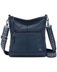 The Sak   Blue Lucia Leather Crossbody   Lyst