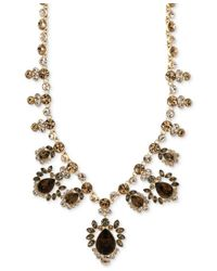 Givenchy - Metallic Multi-stone And Crystal Collar Necklace - Lyst