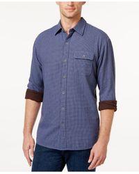 Tommy Bahama | Blue Men's Havana Squared Long-sleeve Shirt for Men | Lyst