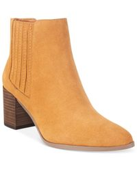Charles by Charles David | Natural Unity Booties | Lyst